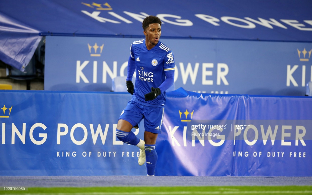 Demarai Gray featured for 86 minutes in City's Development squad game against West Ham. Photo: Getty Images/ Plumb Images