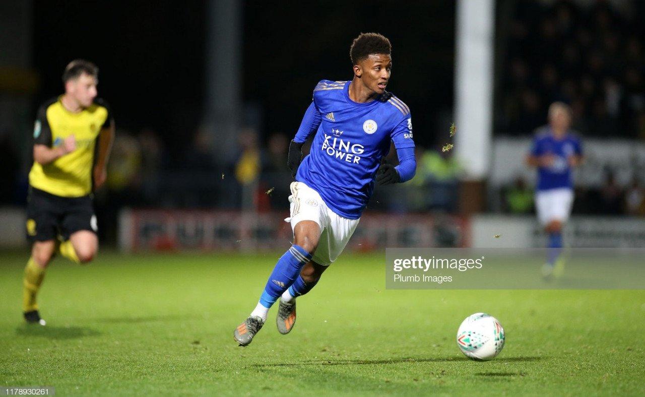 Leicester aiming for Carabao Cup final following Burton victory, says Demarai Gray