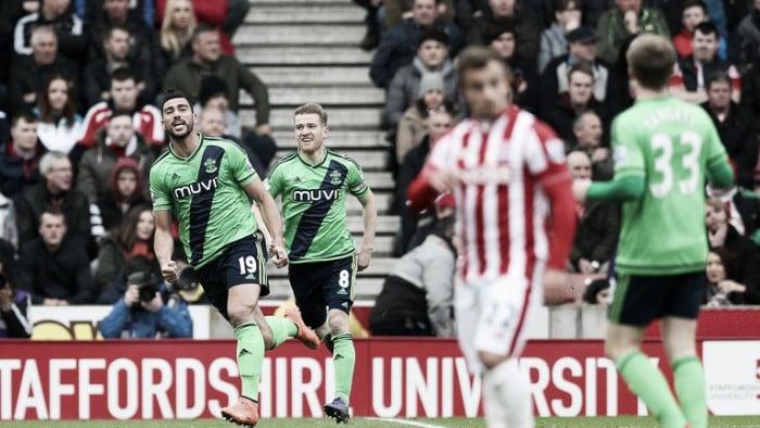 Stoke City 1-2 Southampton: Saints return to winning ways after Pelle brace