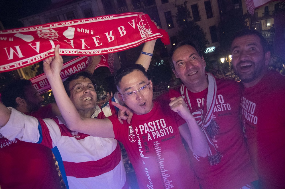"""John Jiang: """"Amo Granada y estoy orgulloso de luchar juntos por el buen nombre de esta ciudad"""""""