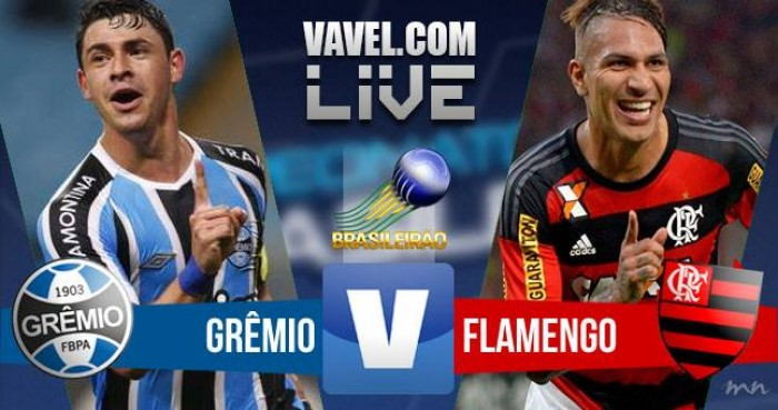 Resultado Grêmio x Flamengo no Campeonato Brasileiro 2016 (1-0)