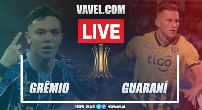 Gols e melhores momentos deGrêmio 2x0 Guaraní pela Libertadores 2020 (2-0)