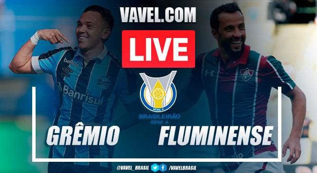 Gol e melhores momentos Grêmio x Fluminense pelo Campeonato Brasileiro (1-0)