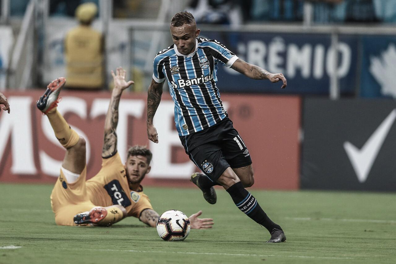 Grêmio vence Rosario Central em casa e respira na Copa Libertadores