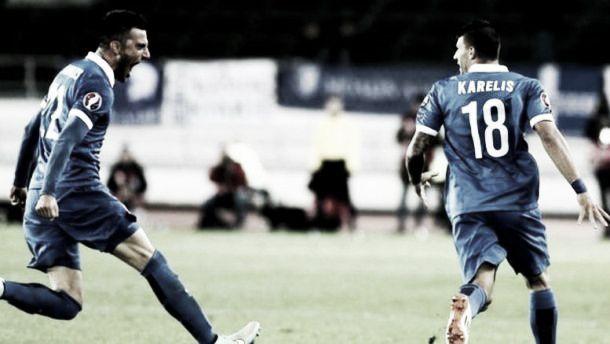 Greece - Faroe Islands: Bottom of Group F clash at the Karaiskakis Stadium
