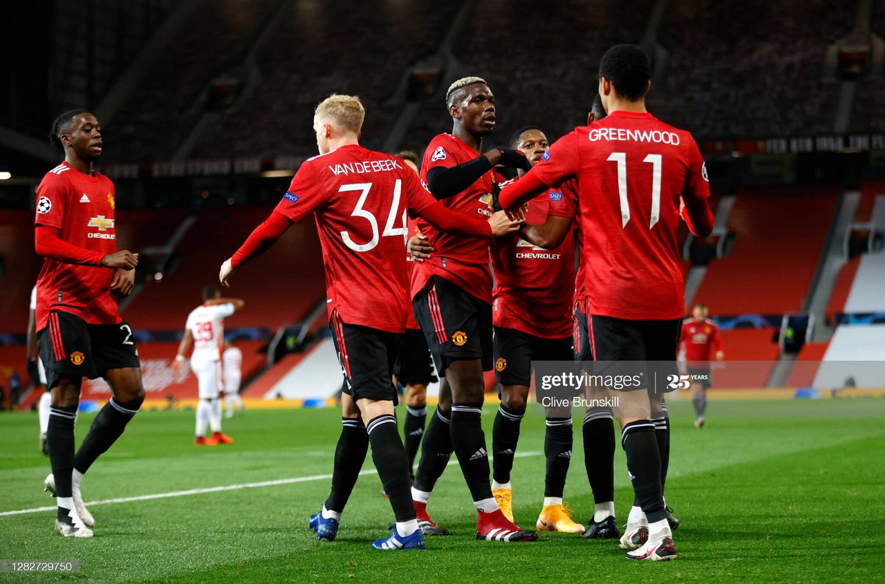 As it happened: Five-star performance for United as they sweep Leipzig aside