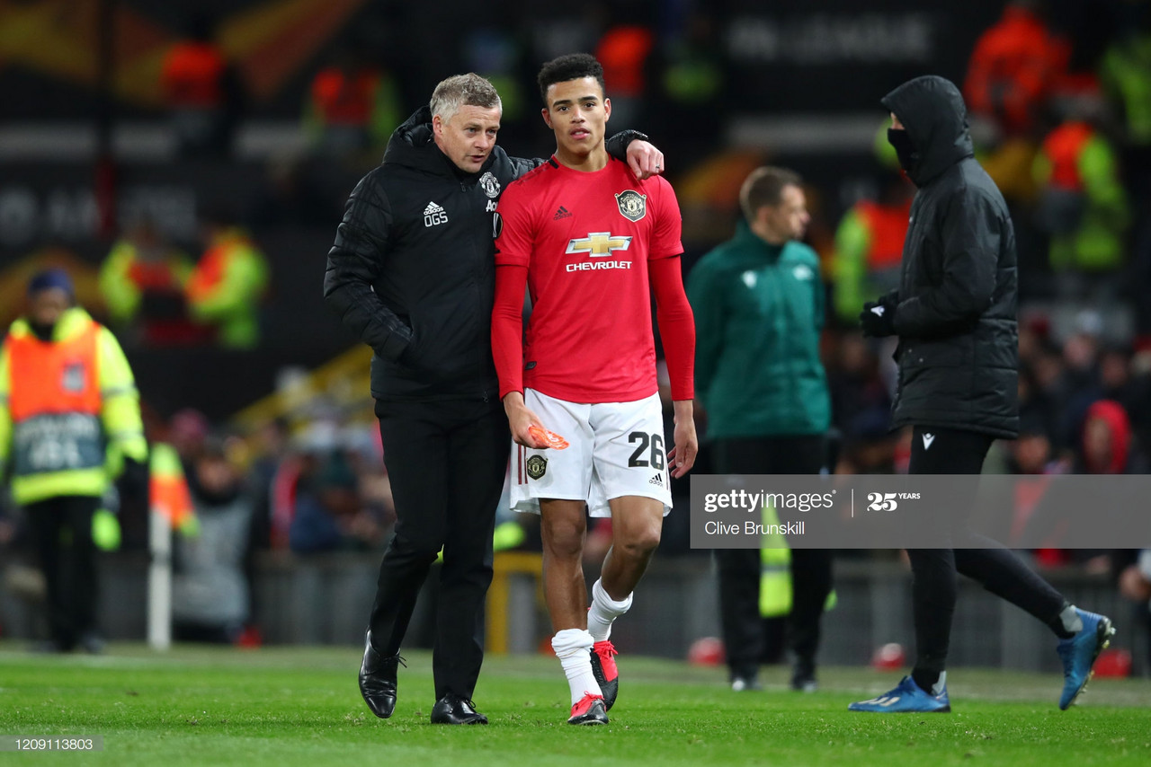 Solskjaer full of praise for Greenwood following impressive display vs Brighton