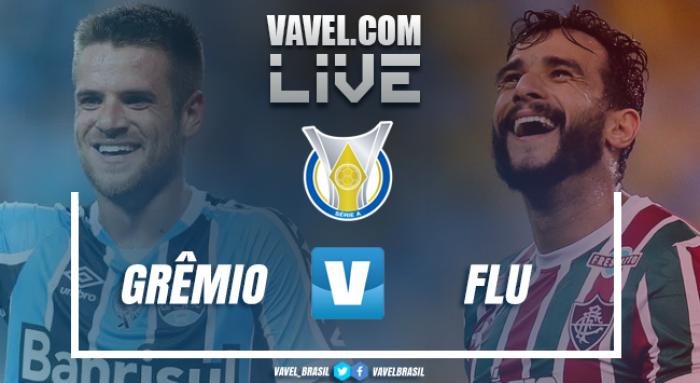 Resultado Grêmio x Fluminense no Campeonato Brasileiro (1-0)