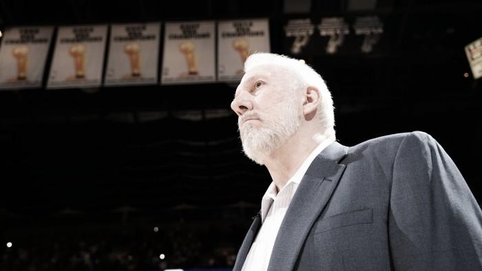 Gregg Popovich, el quinto entrenador con más victorias