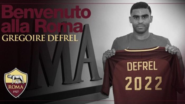 UFFICIALE, Roma: preso Defrel