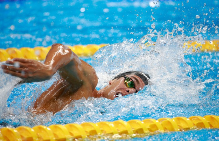 Nuoto: Paltrinieri terzo negli 800 Mondiali