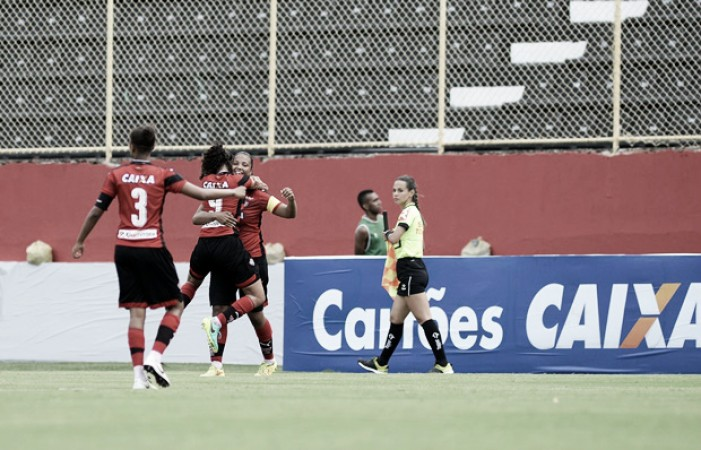 Vitória conquista primeiro ponto no Brasileirão Feminino ao empatar com Ferroviária