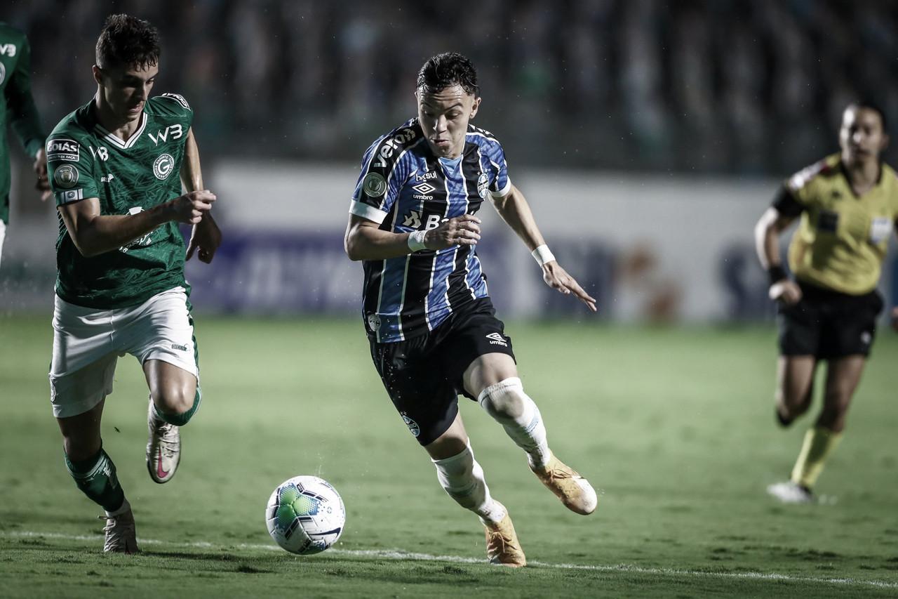 Em jogo de pouca inspiração, Goiás e Grêmio empatam sem gols