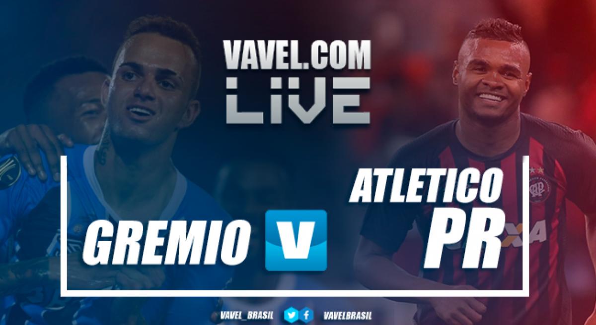 Resultado de Grêmio 0 x 0 Atlético-PR pelo Campeonato Brasileiro 2018