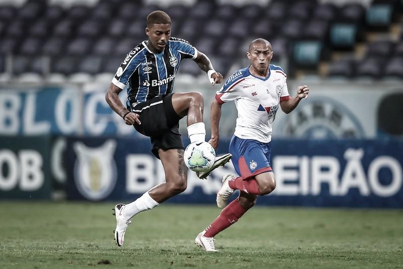 Sob olhar do novo técnico, Bahia tenta espantar má fase diante do Grêmio