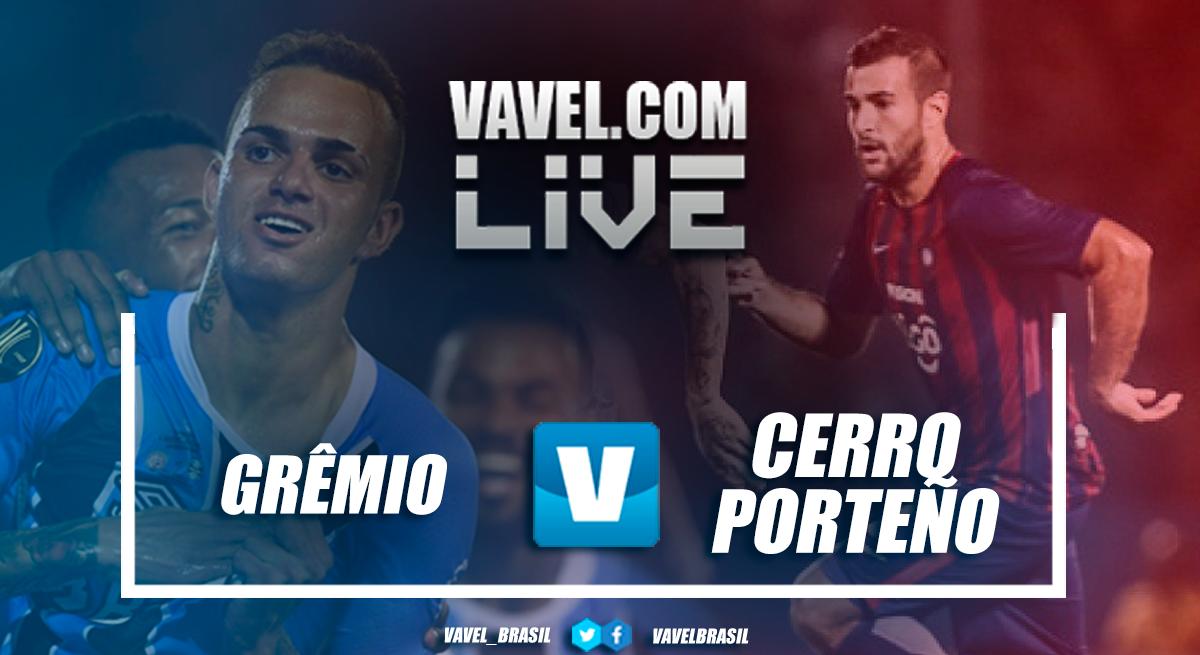 Resultado Grêmio x Cerro Porteño pela Copa Libertadores 2018 (5-0)