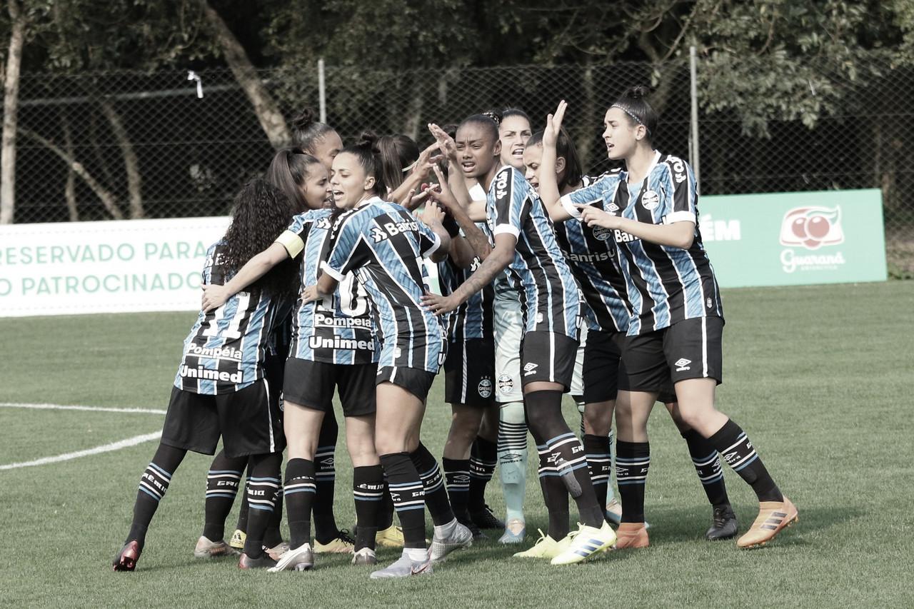 Grêmio vence Iranduba e garante vaga no G-3 do Campeonato Brasileiro Feminino