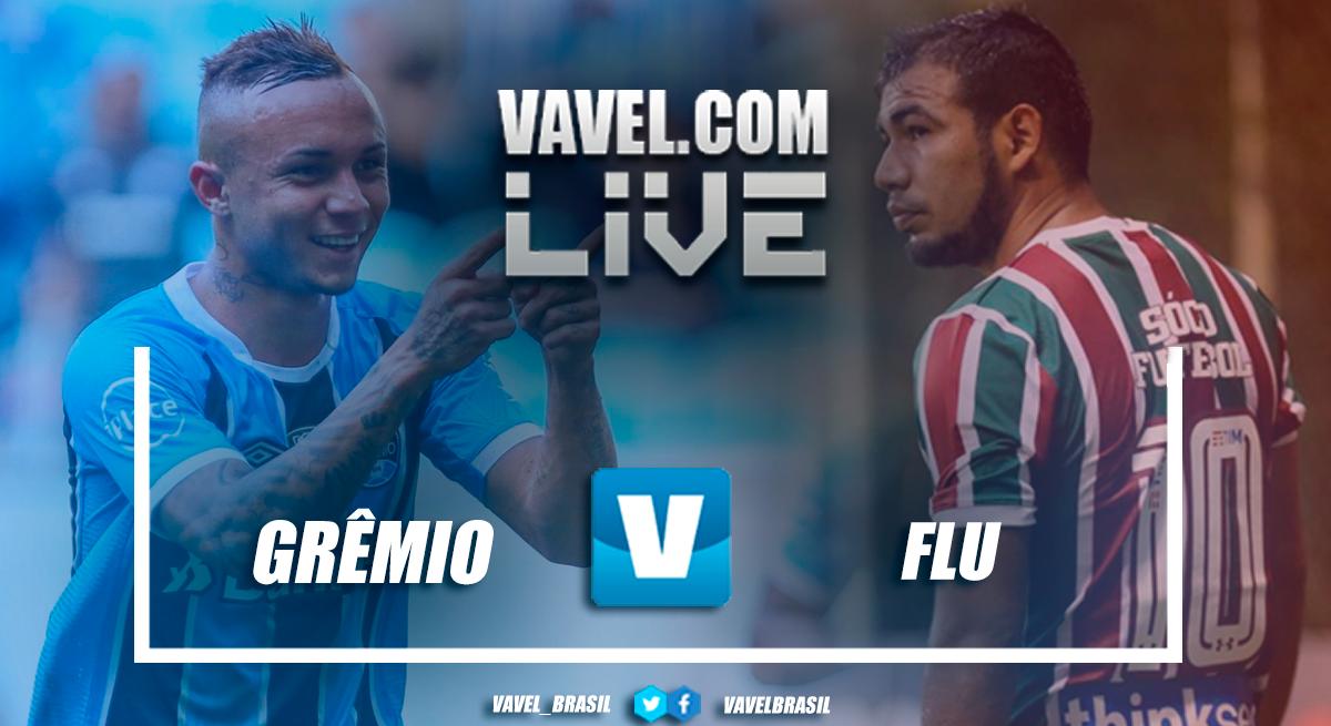 Resultado Grêmio x Fluminense no Campeonato Brasileiro 2018 (0-0)
