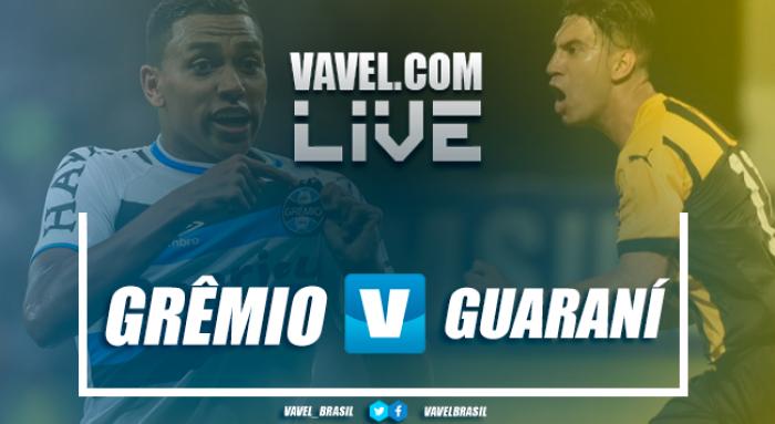 Grêmio recebe o Guaraní-PAR buscando recuperar a confiança da torcida