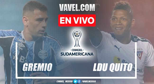 Goles y resumen del Gremio 1-2 LDU Quito en Copa Sudamericana 2021