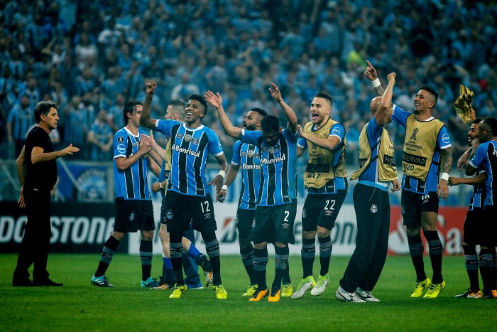 Atual campeão da Libertadores, Grêmio disputará a Recopa em fevereiro