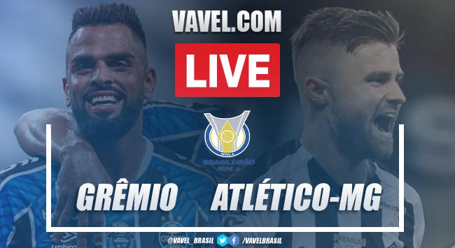 Gols e melhores momentos para Grêmio 1x1 Atlético Mineiro pelo Campeonato Brasileiro