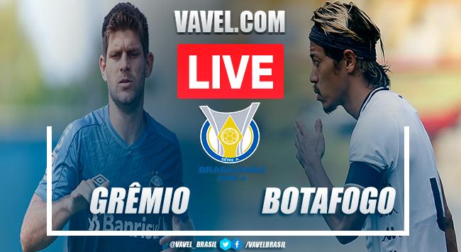 Gols e melhores momentos de Grêmio 3 x 1 Botafogo pelo Brasileirão 2020