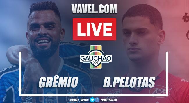 Gols e melhores momentos de Grêmio 4 x 1 Brasil de Pelotas pelo Campeonato Gaúcho