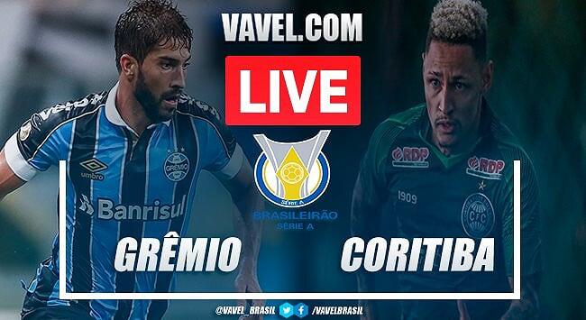 Gols e melhores momentos de Grêmio 2x1 Coritiba