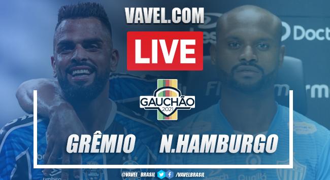 Gols e melhores momentos Grêmio 3 x 1 Novo Hamburgo