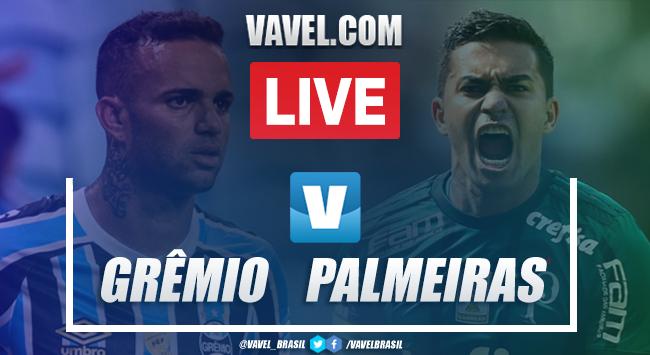 Assistir Jogo Grêmio x Palmeiras AO VIVO online pelo Campeonato Brasileiro 2019 (0-0)