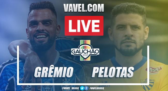 Gols e melhores momentos de Grêmio 4x0 Pelotas pelo Campeonato Gaúcho