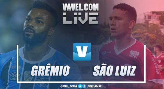 Jogo Grêmio x São Luiz AO VIVO online pelo Campeonato Gaúcho 2019
