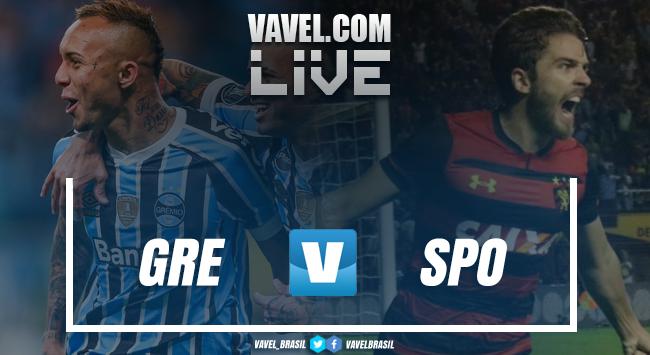 Resultado Grêmio x Spor (3 x 4)