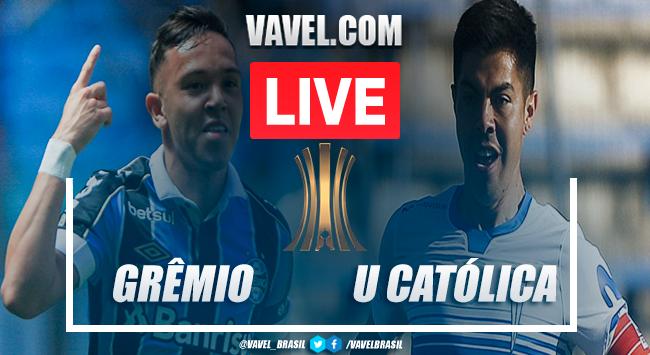 Gols e melhores momentos deGrêmio 2x0 Universidad Católica pela Libertadores da América