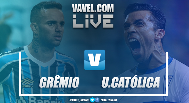 Resultado e gols Grêmio x Universidad Católica pela Libertadores 2019 (2-0)
