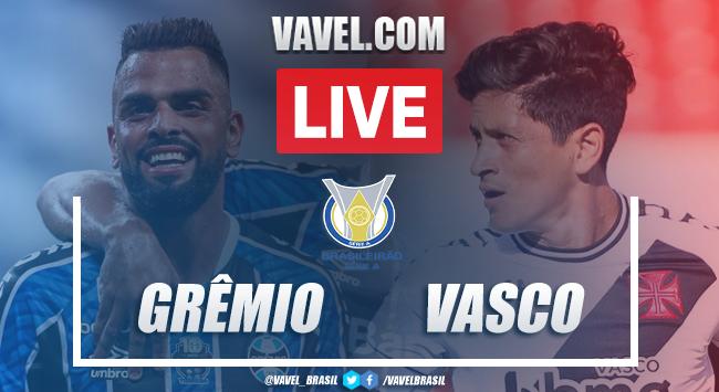 Gols e melhores momentos para Grêmio 4x0 Vasco pelo Campeonato Brasileiro