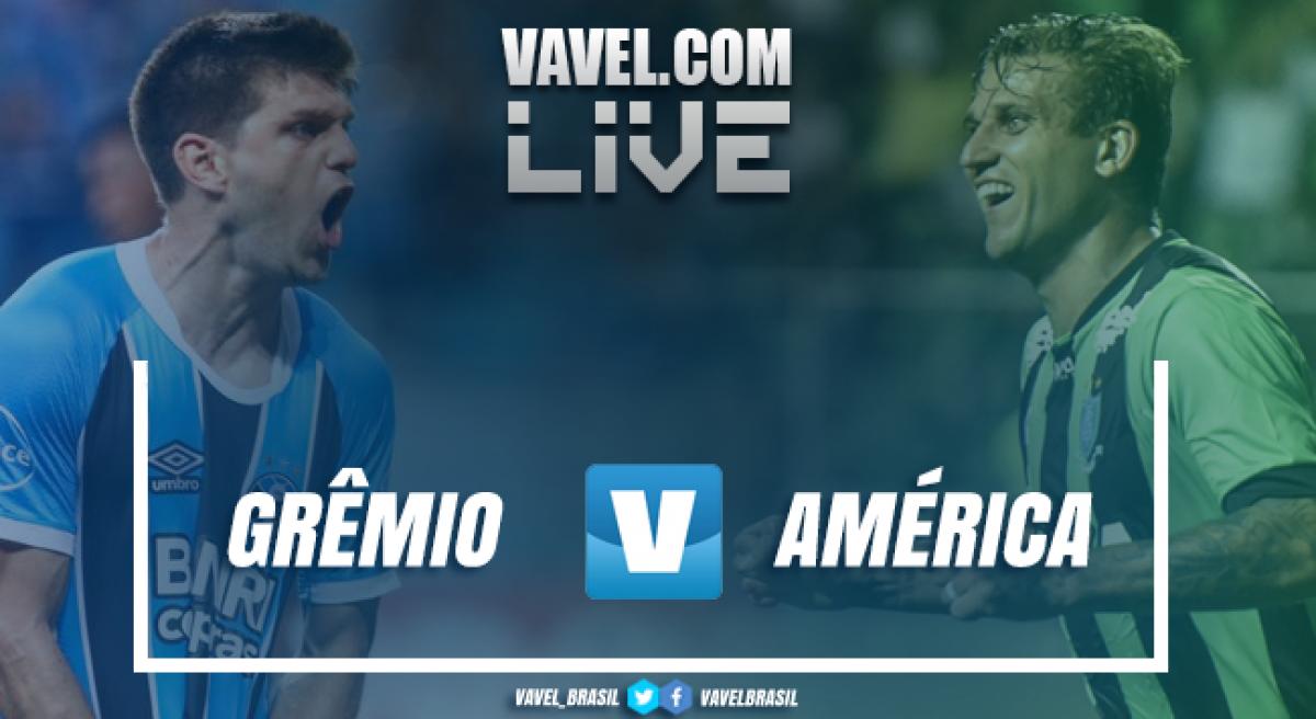 Grêmio vence o América-MG pelo Campeonato Brasileiro (1-0)