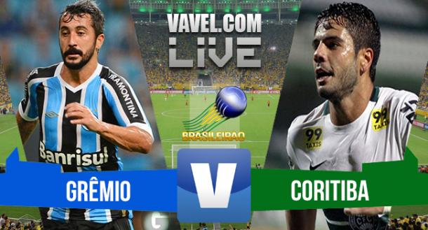 Grêmio x Coritiba no Brasileirão Série A 2015 (0-0)
