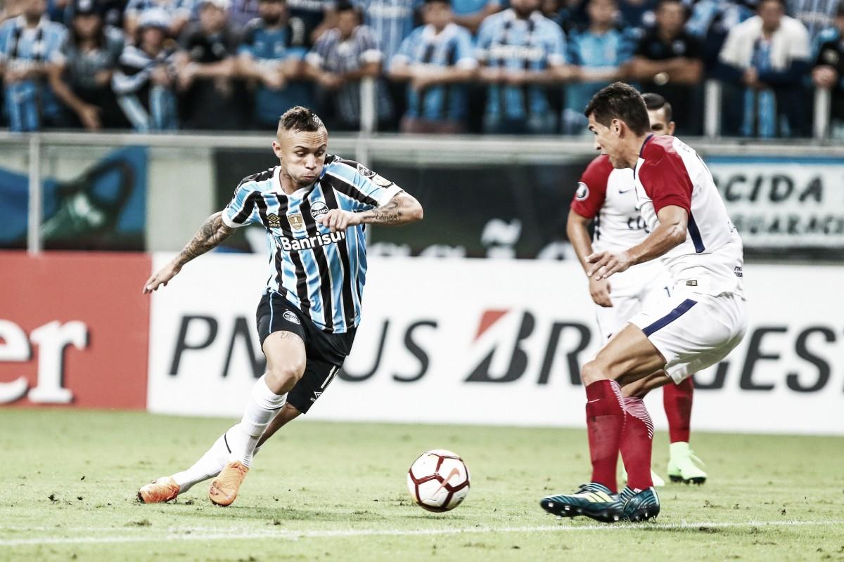 Grêmio goleia Cerro Porteño e assume liderança do Grupo A da Libertadores