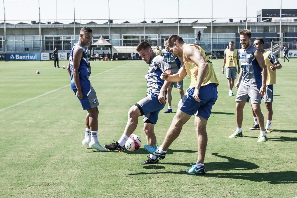 Grêmio está pronto para enfrentar Brasil de Pelotas e conquistar mais uma taça