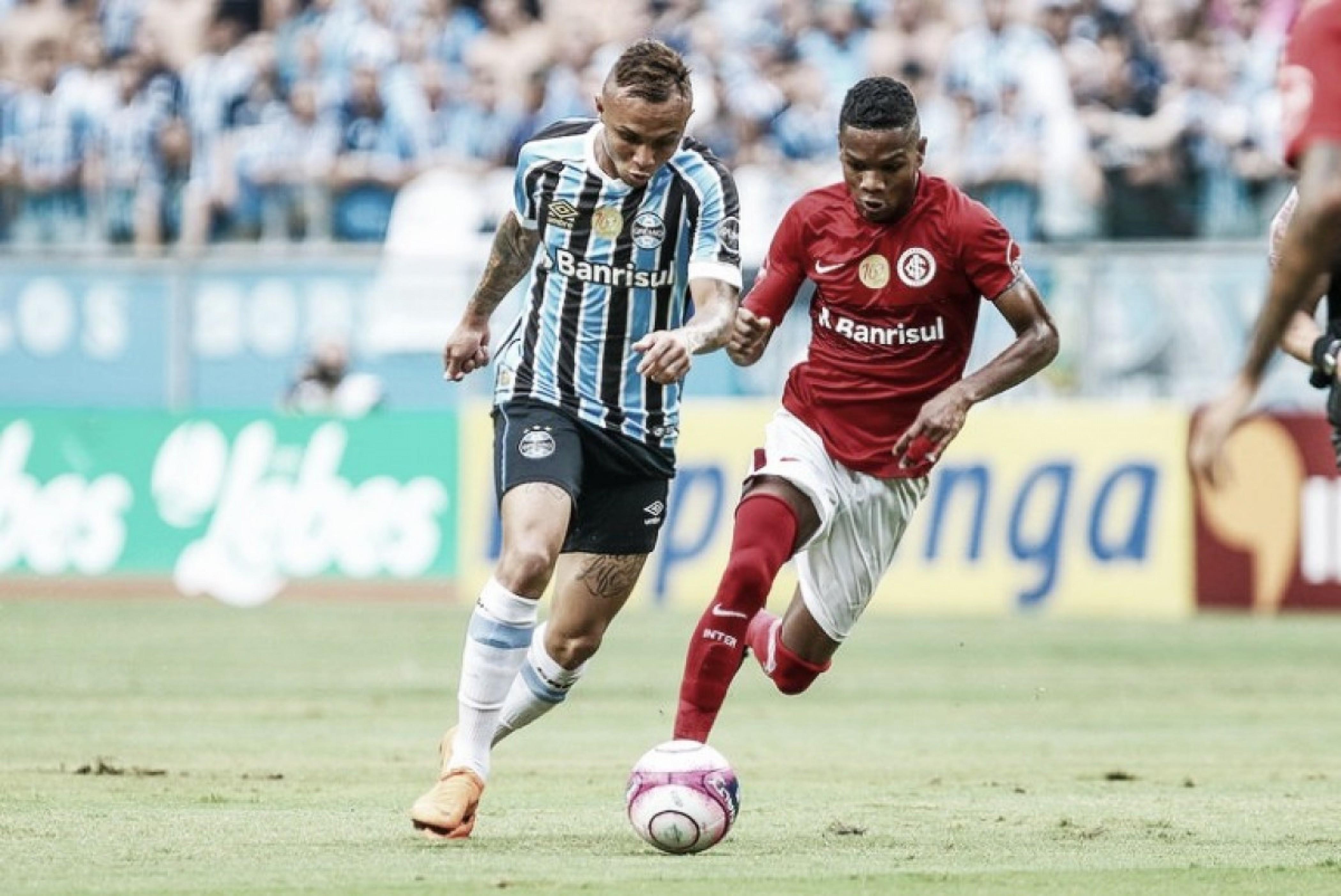 Na disputa pelas primeiras posições do Brasileirão, Inter e Grêmio se enfrentam no Beira-Rio