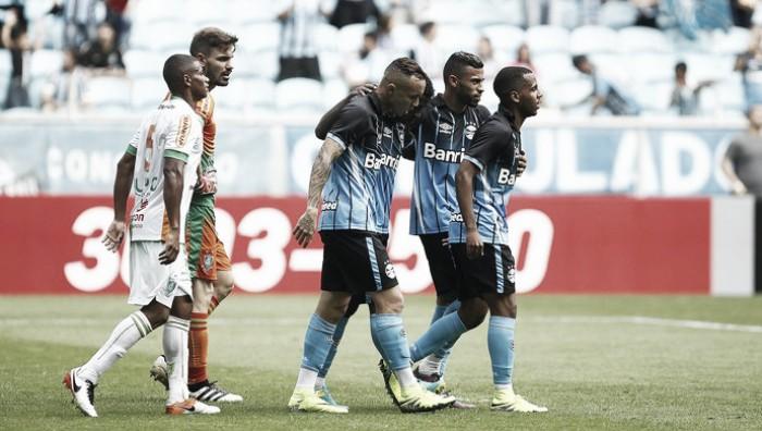 Mesmo com reservas, Grêmio bate América-MG e agora volta atenções a Copa do Brasil
