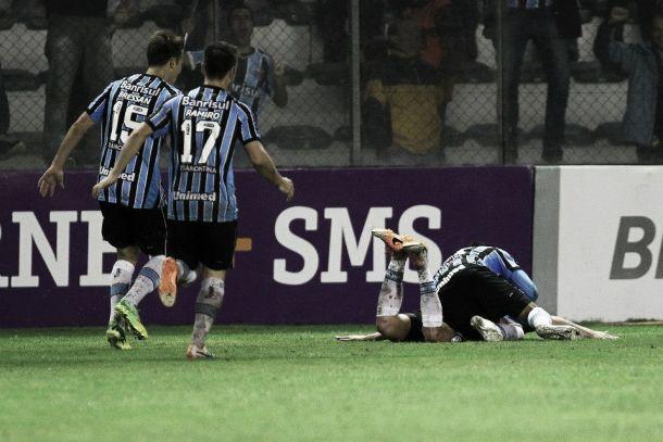 Contente com o resultado, Enderson Moreira valoriza o poder de reação do Grêmio