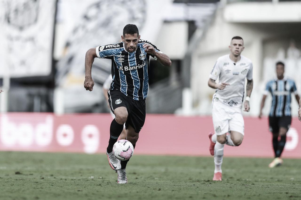 Grêmio e Santos iniciam disputa por vaga na semifinal da Libertadores