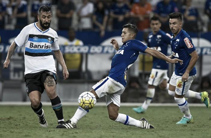 Resultado Grêmio x Cruzeiro pela Copa do Brasil 2016 (0-0)