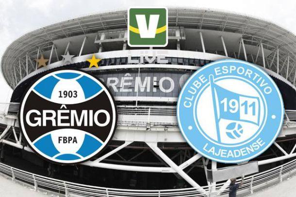 Grêmio x Lajeadense, assim acompanhamos