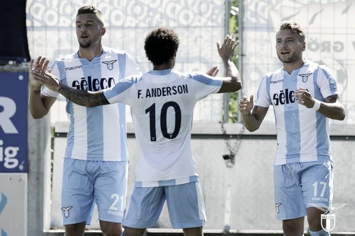 Lazio, doppio Immobile e Anderson stendono il Leverkusen: è 3-1 a Godric