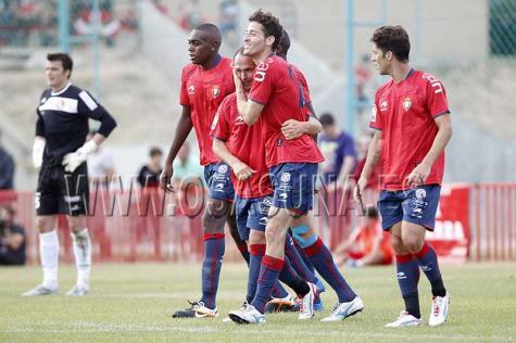 Goles de Lamah, Timor y Nino en la victoria de Osasuna ante la SD Logroñés