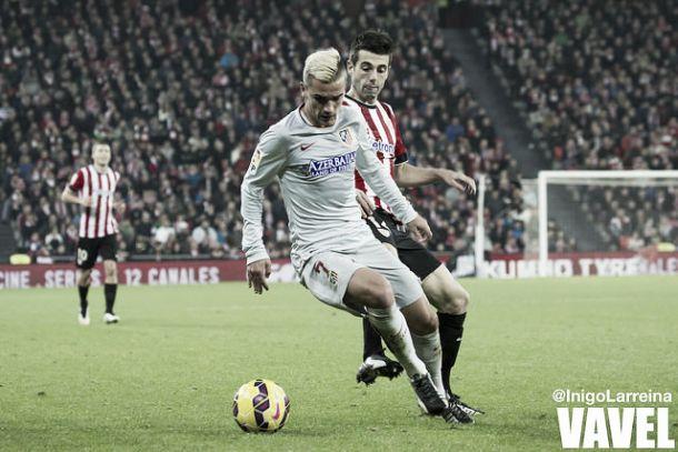 """Griezmann: """"He hecho el mejor partido desde que estoy en el Atlético"""""""